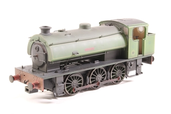 "J9405-PO01 Austerity 0-6-0ST ""Hurricane"" in NCB Bickershaw Colliery lined green - lightly weathered - Limited Edition of 200 - Pre-owned - DCC Sound-fitted, Jerky runner"