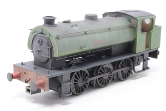 "J9405-PO03 Austerity 0-6-0ST ""Hurricane"" in NCB Bickershaw Colliery lined green - lightly weathered - Limited Edition of 200 - Open box, slightly noisy runner"