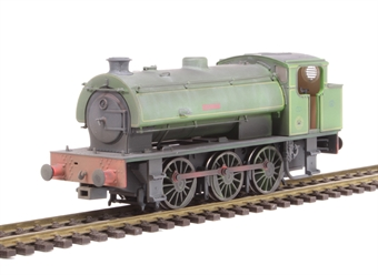 "J9405 Austerity 0-6-0ST ""Hurricane"" in NCB Bickershaw Colliery lined green - lightly weathered - Limited Edition of 200"