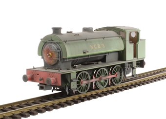 J9406 Austerity 0-6-0ST 8 in NCB Mountain Ash Colliery lined green - very heavily weathered - Limited Edition of 200 £99