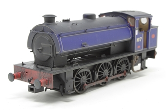 J9409-PO02 Austerity 0-6-0ST No 7 in NCB Littleton Colliery lined blue - lightly weathered - Limited Edition of 200 - Open box, railing slightly loose on one side of boiler