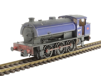 J9409 Austerity 0-6-0ST No 7 in NCB Littleton Colliery lined blue - lightly weathered - Limited Edition of 200 £99