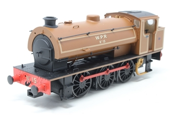 J9410-PO02 Austerity 0-6-0ST No 15 in Wemyss Private Railway lined brown - Exclusive to Hattons - Open box