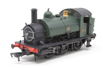 K2203-PO Class 1361 0-6-0ST 1363 in GWR green with shirtbutton emblem - Pre-owned - DCC fitted