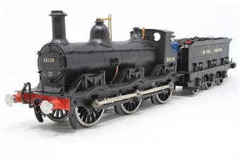 KB779-PO Class 2F Kirtley 0-6-0 58110 in BR black with British Railways lettering - Pre-owned - Kit built from unknown kit