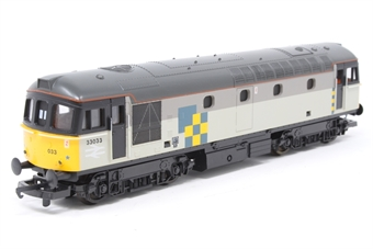 L104313 Class 33 33033 in Railfreight Construction Livery