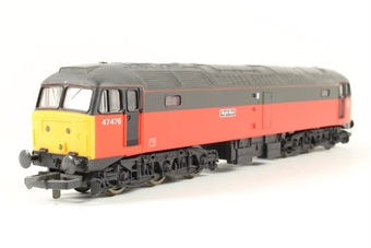L105114 Class 47 47476 Night Mail in Parcels Red