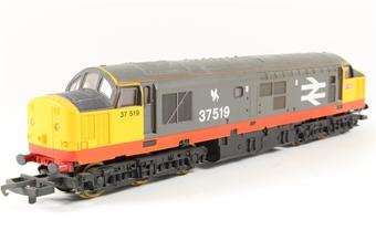 L107157 Class 37/5 37519 in Railfreight Grey - split from set