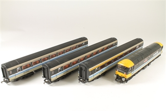 L149779 Class 47 47711 'Greyfriars Bobby' & 3 Coaches in Scotrail Intercity Livery - Limited Edition of 300