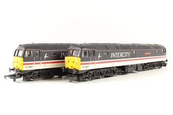 L149960 Class 47/8 47840 & 47853 in Intercity Swallow Livery - Limited editions for Macclesfield Models