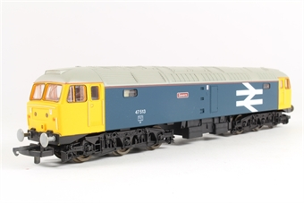 """L204619 Class 47 47513 """"Severn"""" in BR Large Logo blue"""