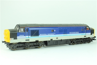 "L204625 Class 37 37418 ""East Lancashire Railway"" in Regional Railways livery"