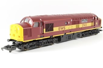 "L204632 Class 37 37413 ""Scottish Railway Preservation Society"" in EWS livery limited edition of 700"