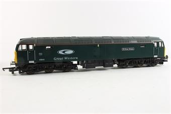 L204645 Class 47 47813 in Great Western Railways livery