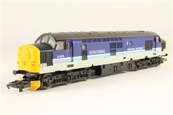 "L204655 Class 37 37425 ""Sir Robert McAlpine/ Concrete Bob"" in BR Large Logo Blue - special edition for Rails"
