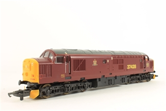 L204659 Class 37 37428 in Royal Scotsman claret limited edition of 550