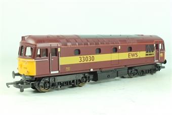 L204660 Class 33 33030 in EWS Livery