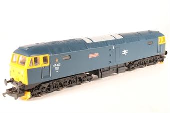 "L204666 Class 47 47402 ""Gateshead"" in BR blue"