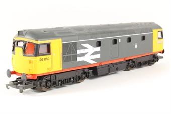 L204670 Class 26 26006 in Railfreight red stripe