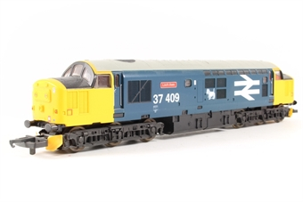 """L204675 Class 37 37409 """"Loch Awe"""" in BR Large Logo blue limited edition of 550"""