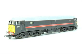 L204688 Class 47/7 47710 in Fragonset Railways black