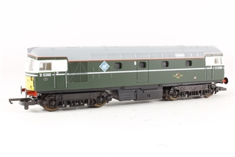L204699 Class 26 D5300/26007 BR Green. Etched plaques and shedplates.