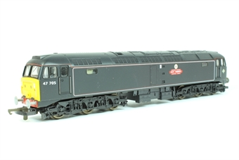 """L204703 Class 47 47705 """"Guy Fawkes"""" in Waterman Railways livery"""