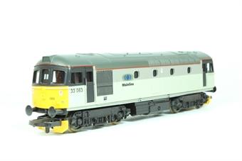 L204705 Class 33 33063 in Mainline grey