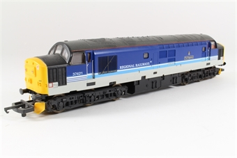 "L204731 Class 37 37421 ""The Kingsman"" in Regional Railways livery"
