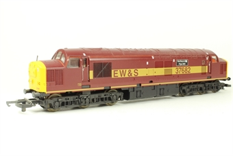 """L204754 Class 37 37682 """"Hartlepool Pipe Mill"""" in EWS livery limited edition of 850"""