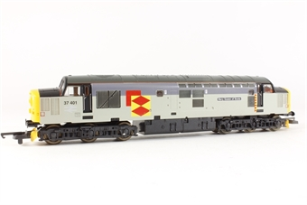"L204771 Class 37 Diesel 37401 ""Mary Queen of Scots"" in Railfreight Distribution"