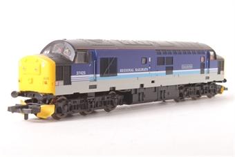 "L204782 Class 37 Diesel 37425 ""Concrete Bob"" in Regional Railways livery"
