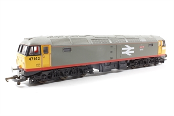 "L204789 Class 47/0 47142 ""Traction"" in Railfreight red stripe livery"