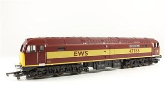 "L204792 Class 47/7 47786 ""Roy Castle OBE"" in EWS livery"