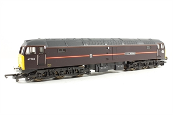 L204794 Class 47 47798 Prince William in Royal Train livery (EWS)