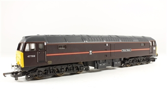 L204795 Class 47 47999 Prince Henry in Royal Train livery (EWS)