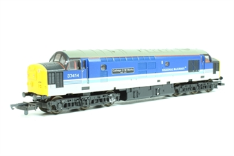 L204817 Class 37 37414 Cathays C&W Works 1846-1993 in Regional Railways livery limited edition of 850