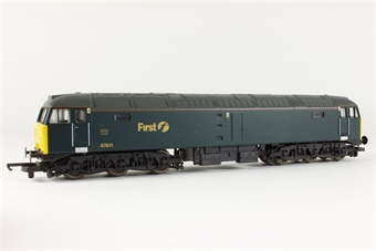 L204825 Class 47 Diesel 47811 in First Great Western livery