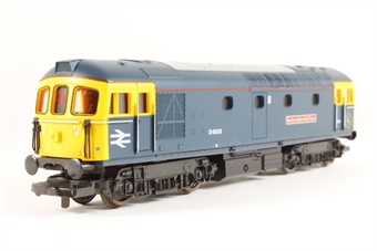 L204841 Class 33 33116 Hertfordshire Rail Tours in BR blue limited edition of 500