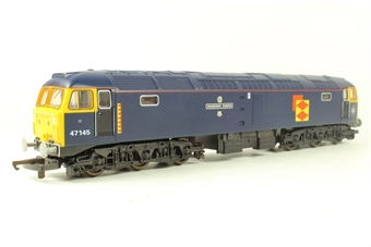 "L204860 Class 47 47145 ""Merddin Emrys"" in Tinsley blue limited edition of 850"