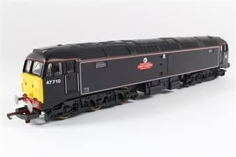 L204880 Class 47 47710 'Lady Godiva' in Waterman Railways Black