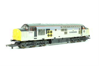 L204891 Class 37 37692 The Lass of Ballochmyle in Railfreight Coal grey limited edition of 500