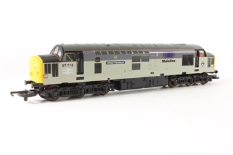 L204892 Class 37 Diesel 37715 in triple grey with Mainline Freight branding with Stewarts Lane motif