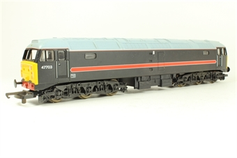 L204898 Class 47/7 47703 in Fragonset black livery