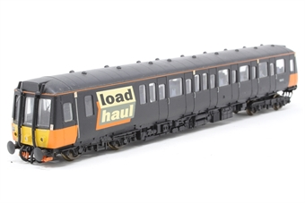 L204912-PO Class 121 single car DMU 'Bubble car'  in Load Haul livery - Pre-owned - professionally reliveried & renumbered- added passengers- loose bogie- imperfect box