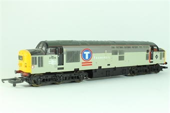 L204932 Class 37 37906 Star of the East in Transrail grey
