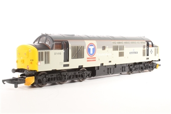 L204949 Class 37 37410 Aluminium 100 in Transrail grey limited edition of 500