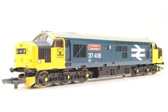 L205027 Class 37 37418 An Comunn Gaidhealach in BR Large Logo blue limited edition of 550