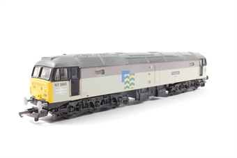 "L205033 Class 47 47380 in Railfreight Petroleum grey ""Immingham"""