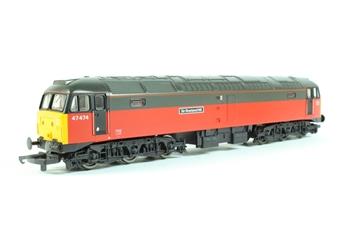 """L205036-47474 Class 47/4 Parcels red """"Sir Rowland Hill"""""""